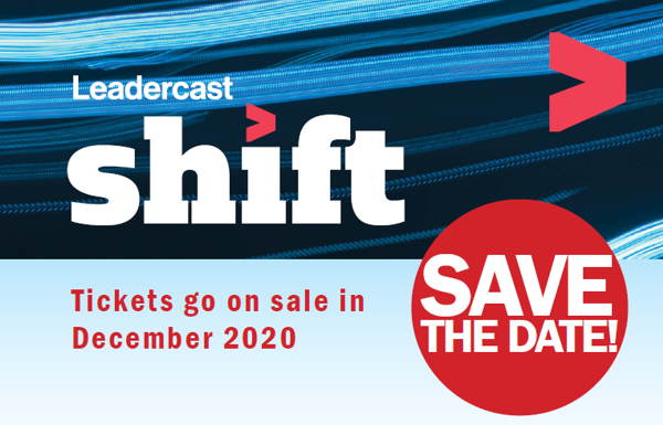 Leadercast shift - Save the Date